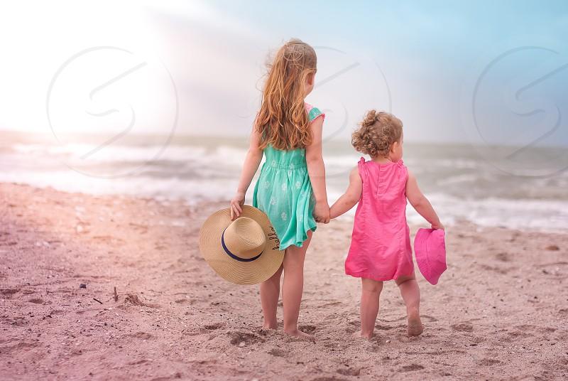 Beach girls  photo