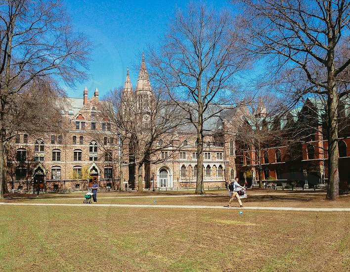 Yale University Campus Connecticut photo