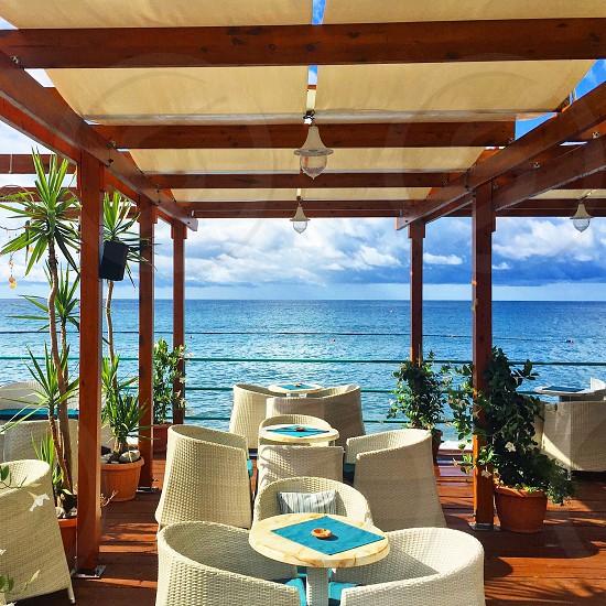 Vacation spot in Amalfi Coast Italy. photo