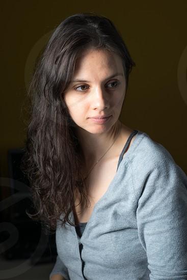 Hair Model photo
