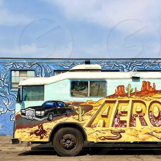 Van mural  photo