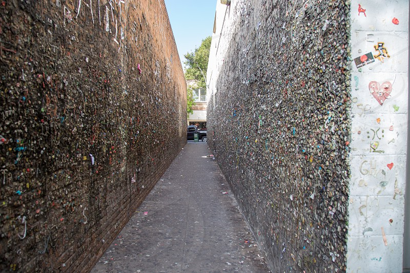 Bubblegum Alley in San Luis Obispo photo