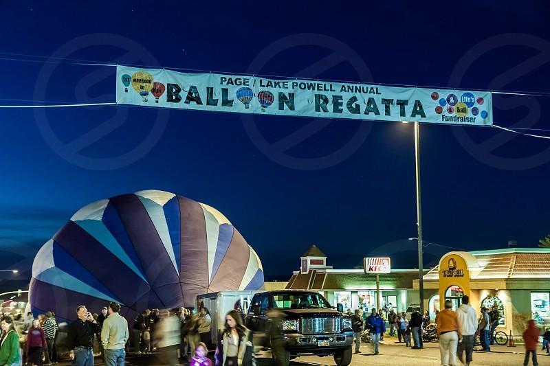 Page and Lake Powell Annual Balloon Regatta photo