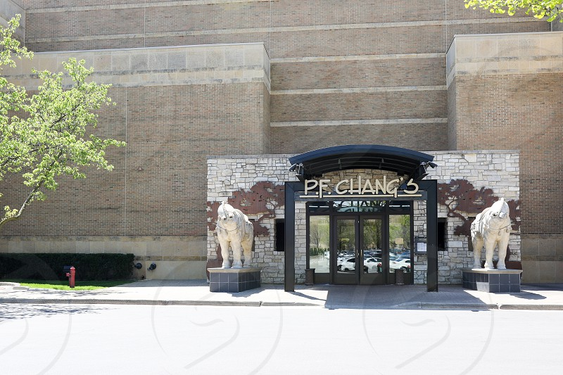 The exterior of the P.F. Chang's in Troy Michigan photo