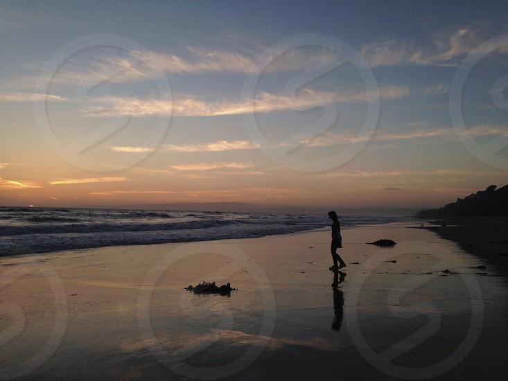 Sunset at Sunset Beach. Using no filter. photo
