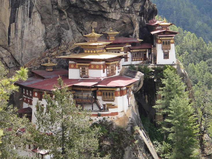Tigersnest temple and monastery in Bhutan photo