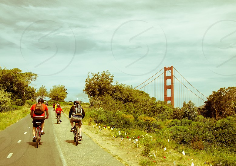 Morning bike rides through San Francisco. photo