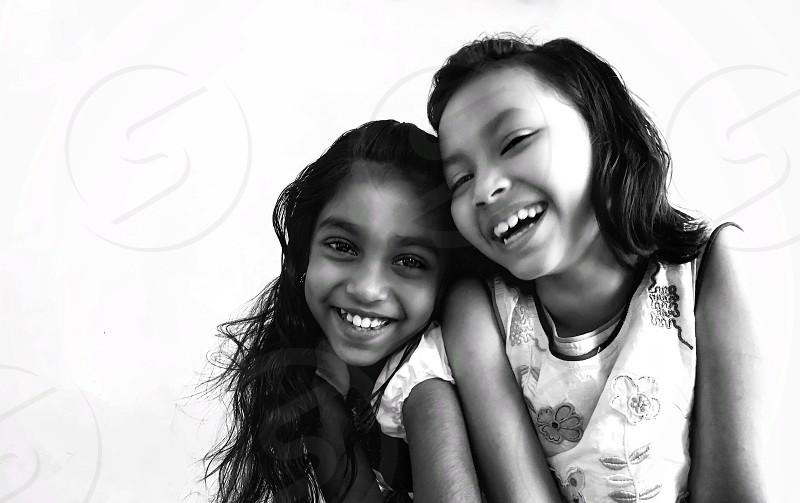 A happy girls photo