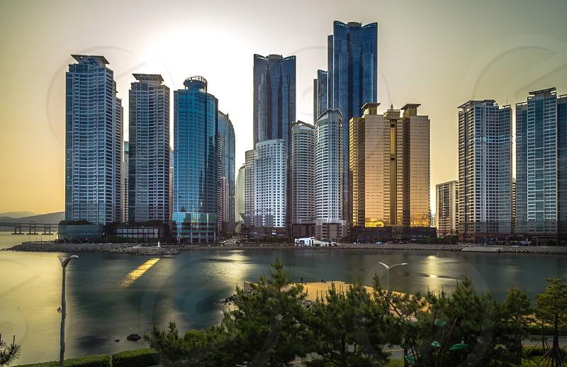 Marine city photo