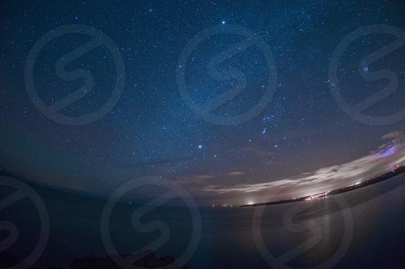 Milky Way from Nare head  photo