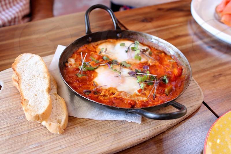 Breakfast egg  photo