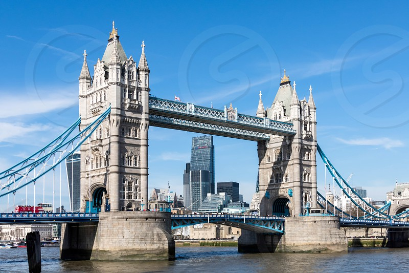 View of Tower Bridge photo