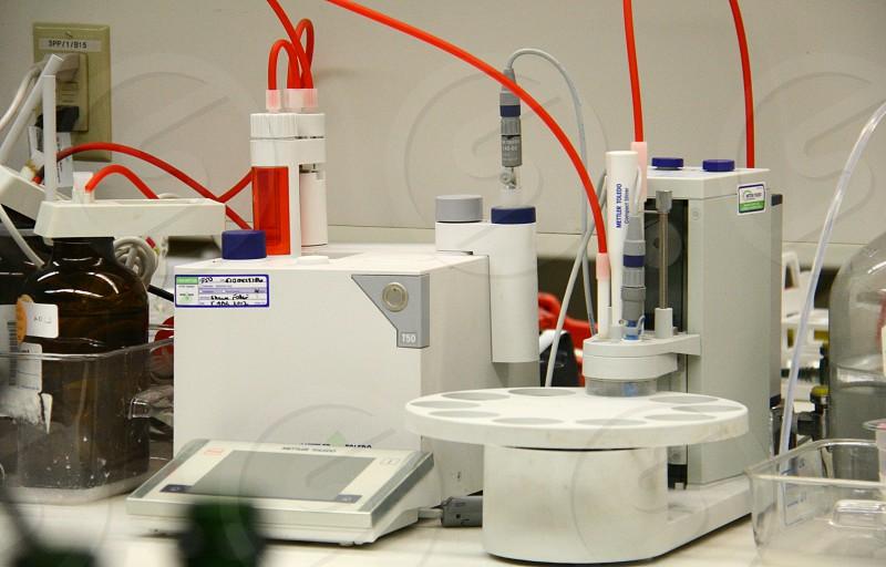 Laboratory equipment photo