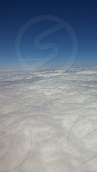 雲の絨毯 #sky #cloud photo