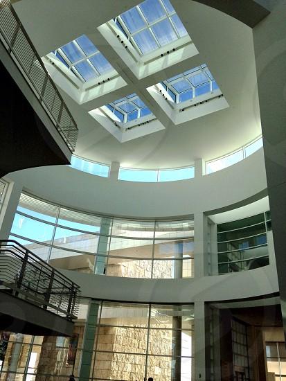 Getty Museum Interior Building - Los Angeles CA photo