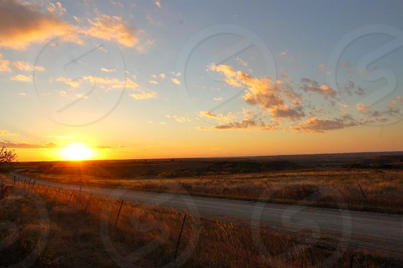 Somewhere in the Flinthills KS.  photo