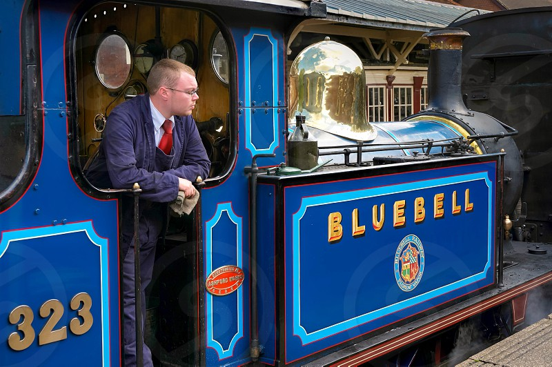 Bluebell Steam Engine at Sheffield Park Station photo