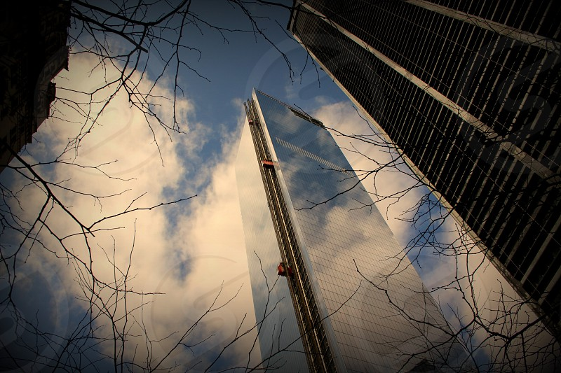 """""""Hope"""" The new ground zero tower slowly makes progress as its reaches higher and higher into the sky. photo"""