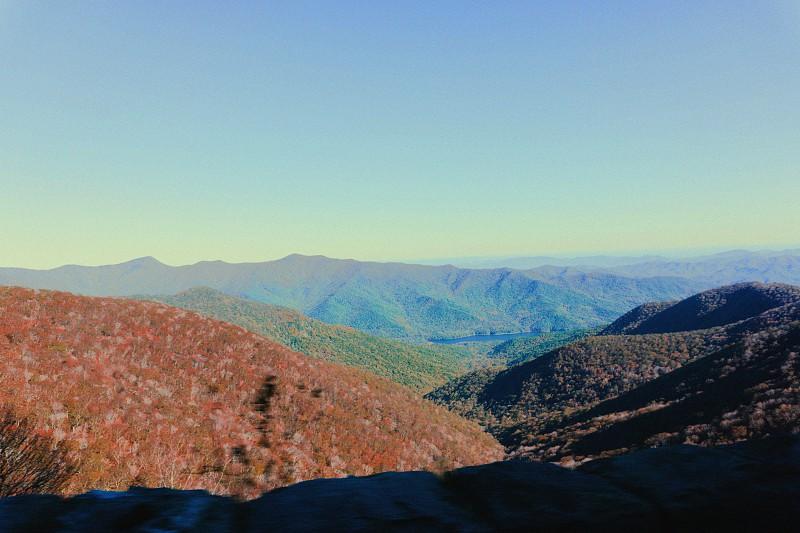 On the road in North Carolina. photo