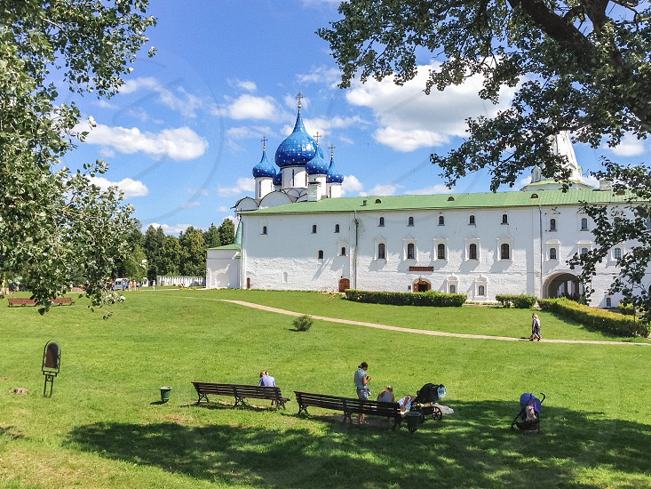 Territory of the Suzdal Kremlin Russia Suzdal photo