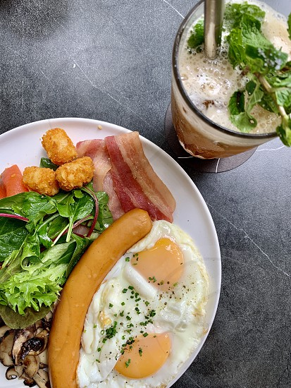 Breakfast food brunch photo
