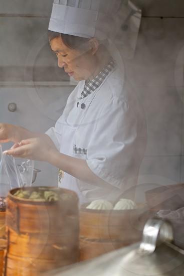 Steam Dumplings China photo