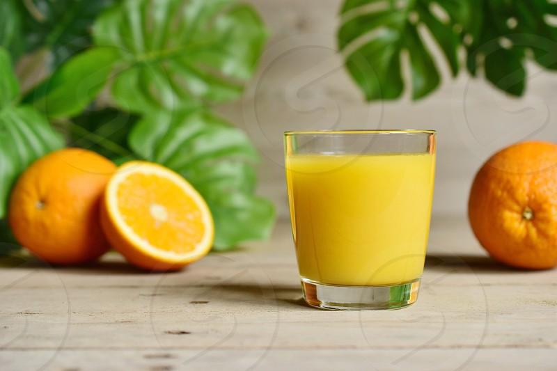 Orange juice  photo