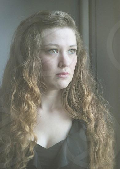 Girl portrait imagine love romance photo