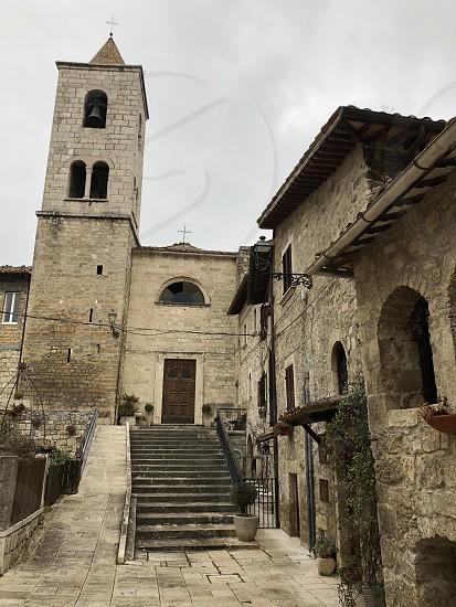 Castel Trosino longobard village Ascoli Piceno county Marche region Italy photo