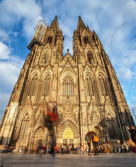 Koln Germany church Europe travel photo