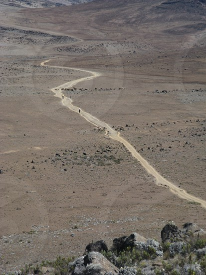 Road to Kilimanjaro  photo