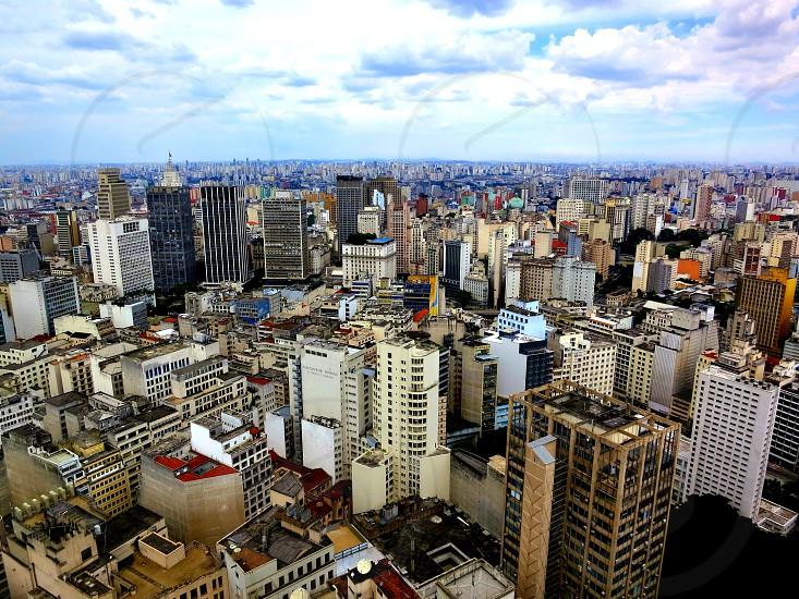 Sao Paulo - Brazil.  View from Terraco Italia Building photo