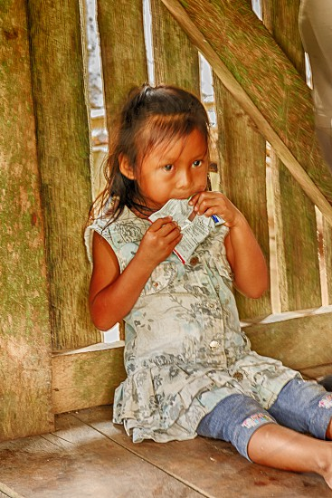 Young Native Girl photo