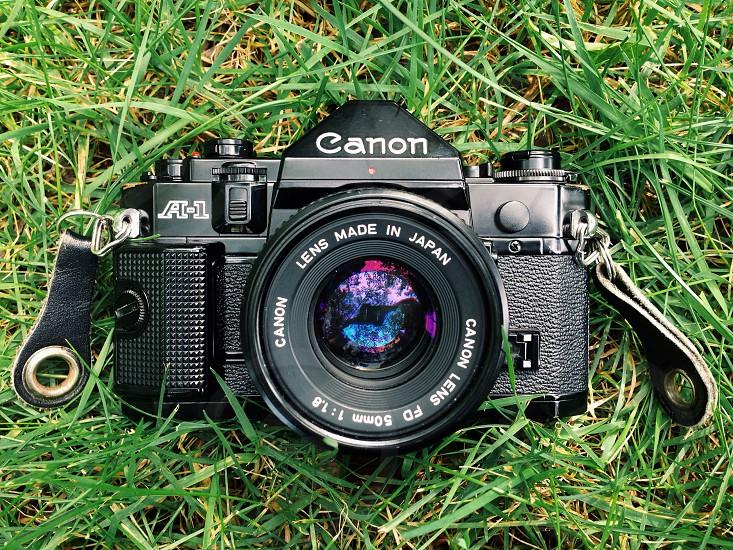 My Canon A-1 film camera. photo