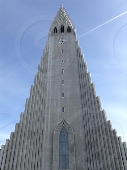Iceland church  photo
