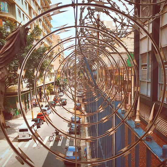 #art #architecture #geometry #city #colors #frames photo