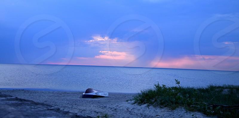 Blue night photo