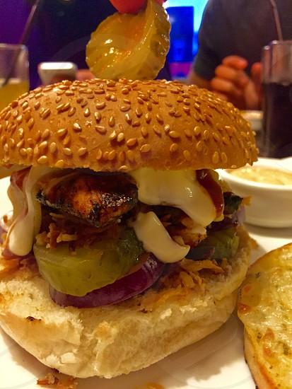 Food focused  photo