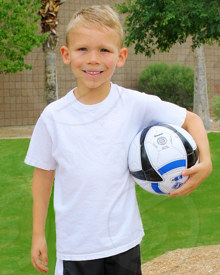 Soccer star photo