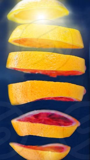 Slices lemon photo