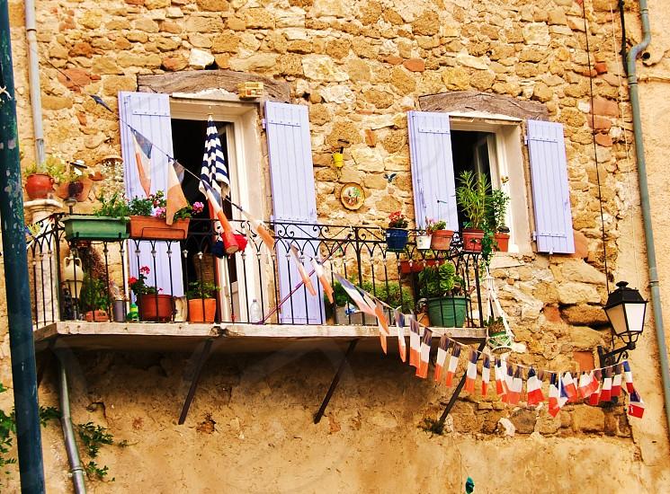 Village in France photo