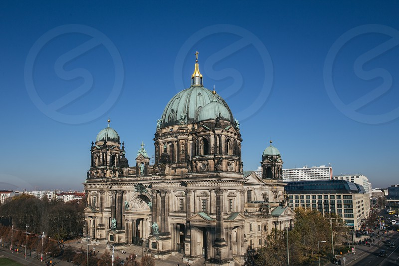 Berlin Cathedral from above photo