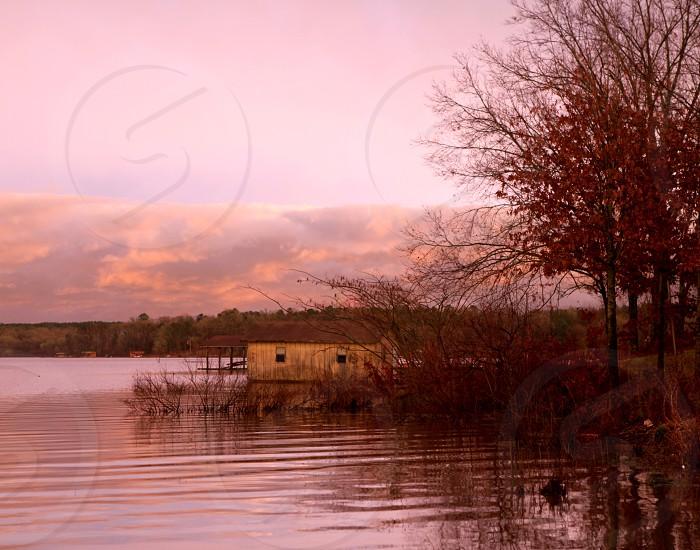 Fall at the lakehouse. photo