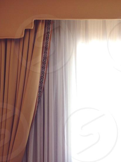 white curtain photo