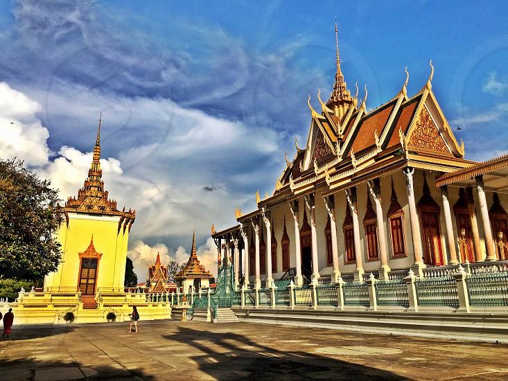 Royal palace in Phnom Penh Cambodia photo