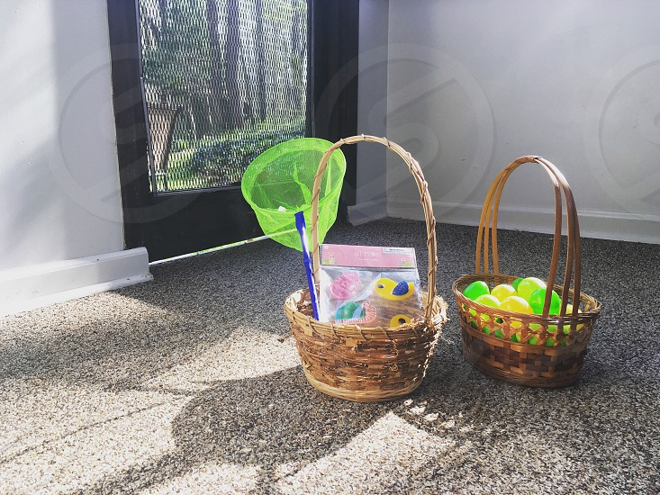 Easter baskets photo