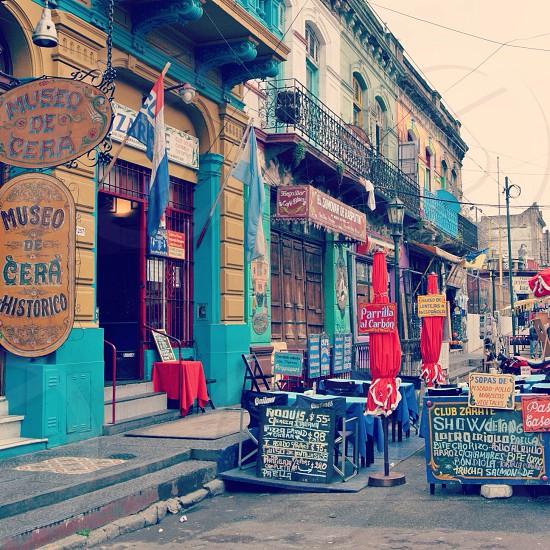 La Boca neighbourhood Buenos Aires Argentina photo