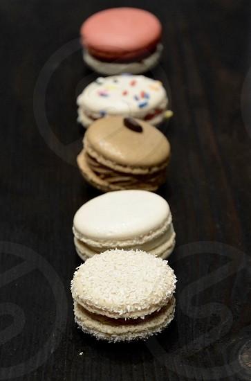Macaroons Cookies Dessert Sweets photo