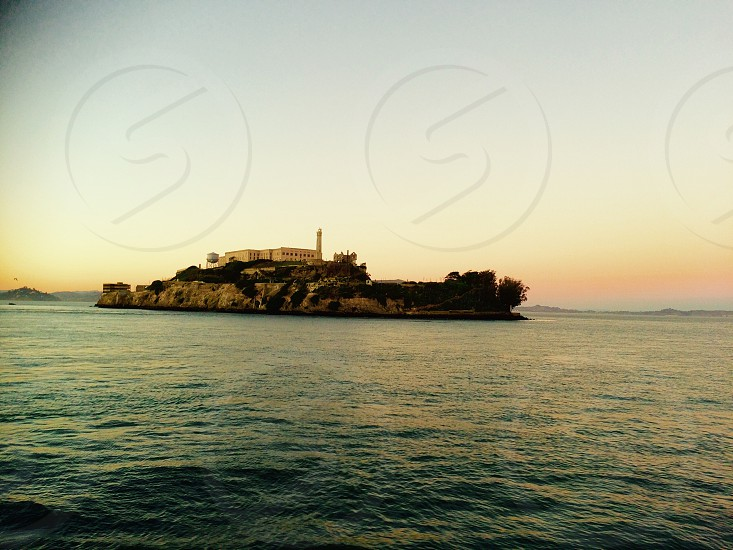 Alcatraz island San Francisco penitentiary  photo
