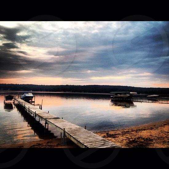 Lake Charlevoix Michigan  photo